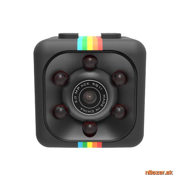 Mini kamera kocka - Sports HD DV SQ11 mini camera